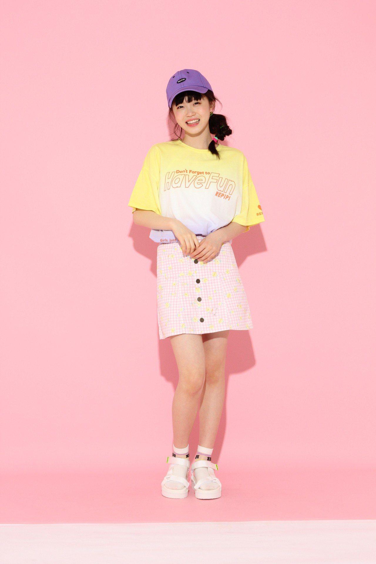 京站推出日本人氣青少女服飾品牌「reipipi armario」快閃店。圖/京站...
