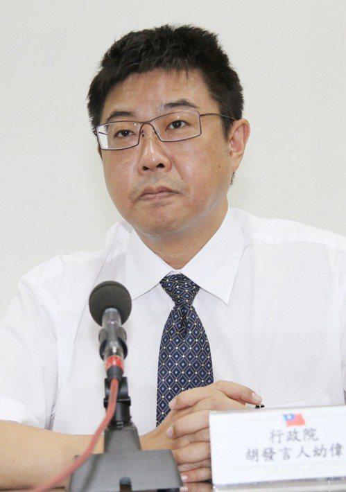 中國文化大學新聞系主任胡幼偉。聯合報系資料照/記者曾學仁攝影