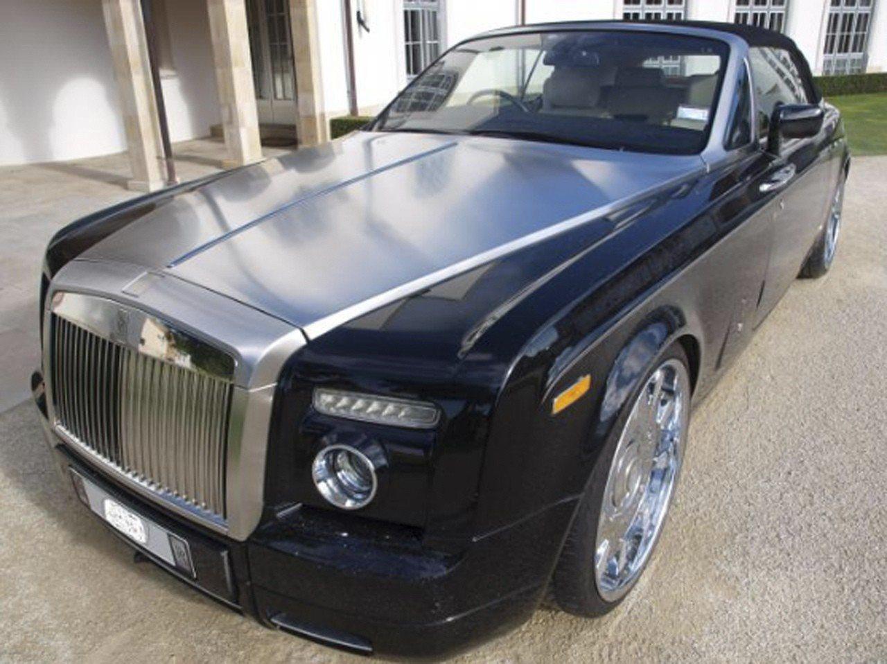 勞斯萊斯幻影豪華轎車。 (路透)