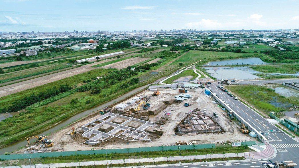 針對台商回台投資需地問題,行政院已從四大面向盤點出1,827公頃土地。 台南市經...