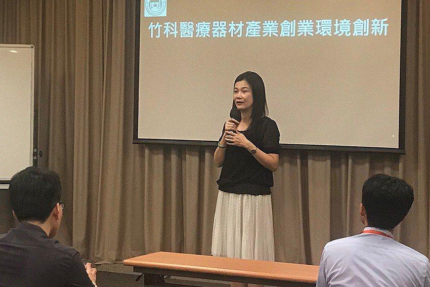 竹科管理局副局長許增如期勉團隊參訪收獲滿滿。 亞太加速器網絡協會(AAN)/提供