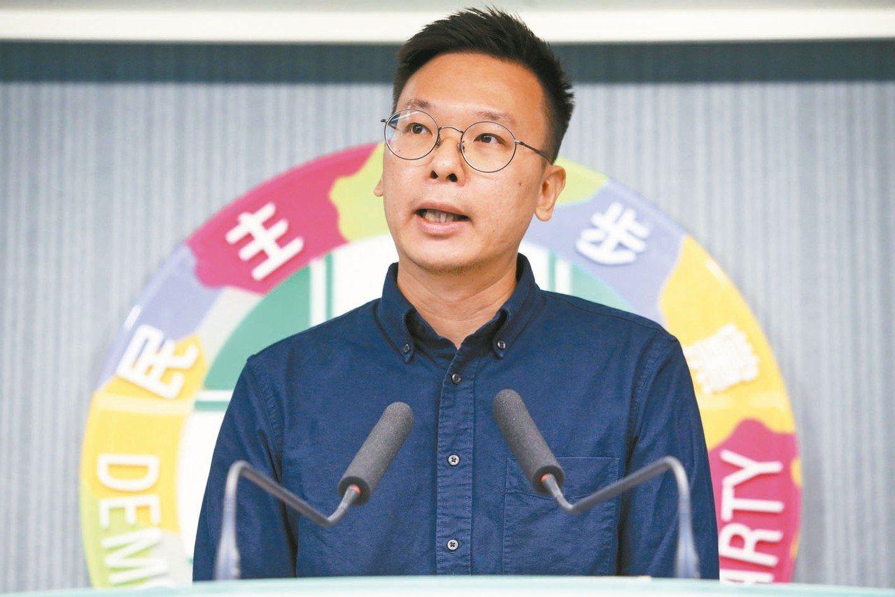 太陽花學運領袖林飛帆接任民進黨副秘書長。 圖/聯合報系資料照片