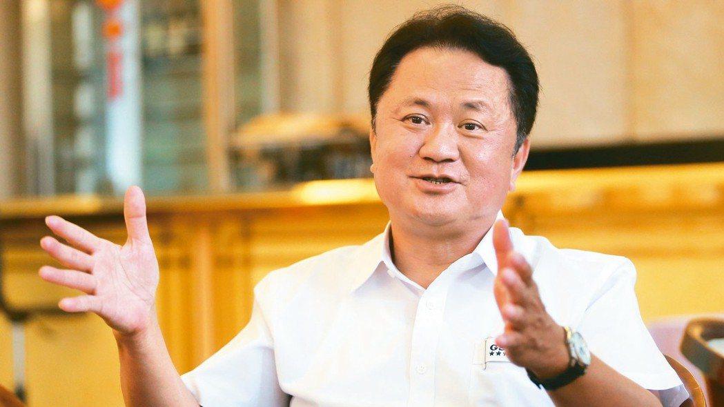 玉晶光董事長陳天慶。 本報資料照片