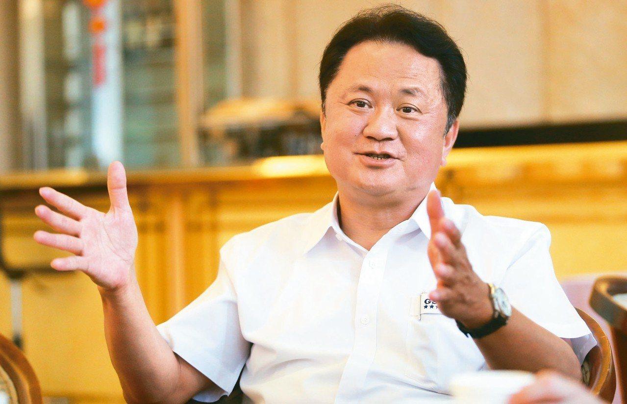 玉晶光董事長陳天慶。 圖/聯合報系資料照片