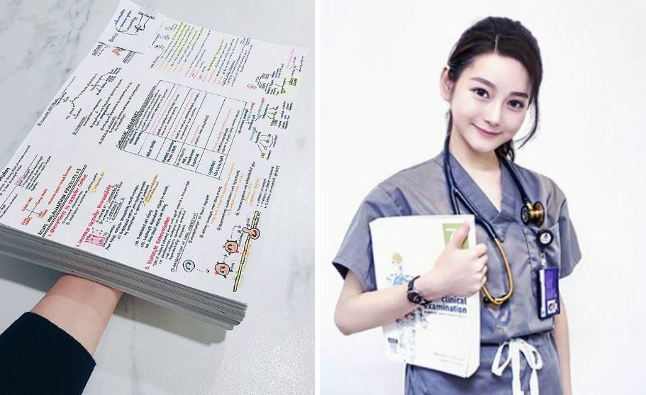 李姓女醫師除了長相令人驚艷外,也很會唸書,讓網友直呼「又正又會讀書又是醫生根本人...