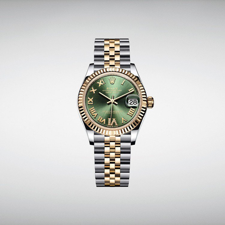 Rolex Oyster Perpetual Datejust 31黃金鋼款搭配...