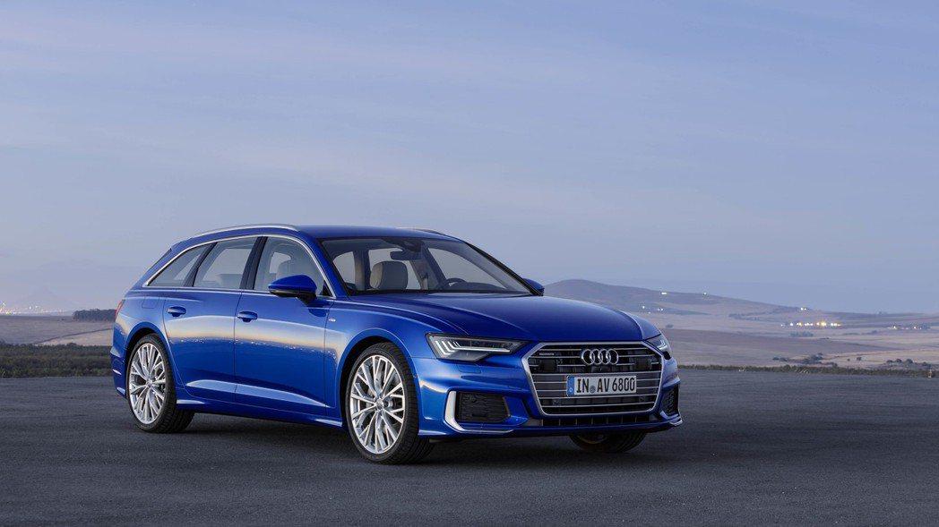The new Audi A6 Avant 繼承先前Audi Prologue概...
