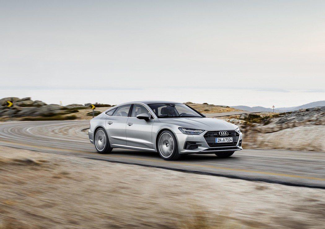 台灣奧迪正式宣布即日起 The new Audi A7 Sportback 45...