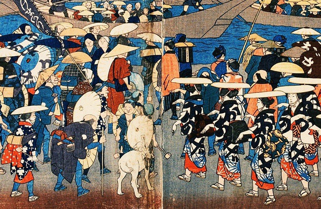 去伊勢神宮參拜、稱為「伊勢參り」,是居住和移動都限制嚴格的江戶時代,少數不會被幕...