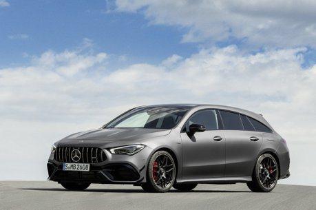 421匹的另一種選擇 Mercedes-AMG CLA 45 Shooting Brake發表!