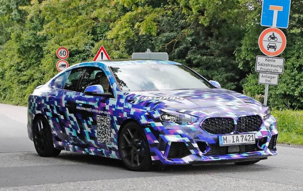全新BMW 2 Series Gran Coupe將在下週三亮相。 摘自Cars...