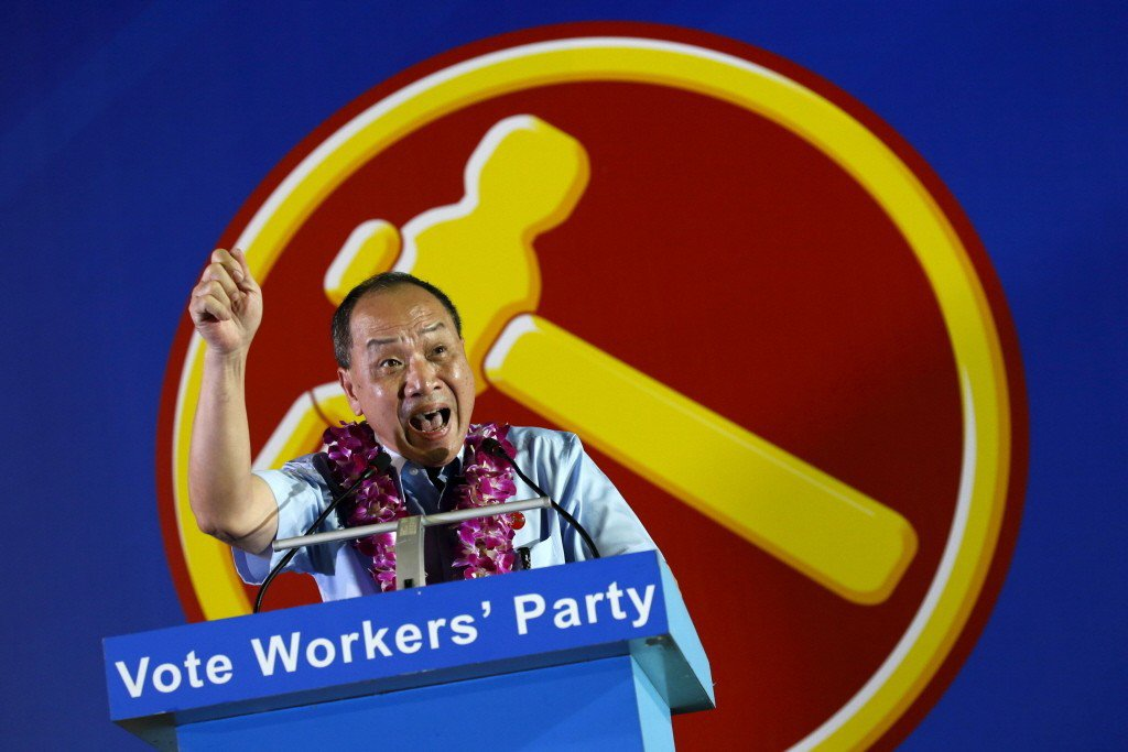 新加坡在野黨領袖劉程強批評,打假訊息法是一道「明修棧道、暗渡陳倉」的法案。 圖/路透社