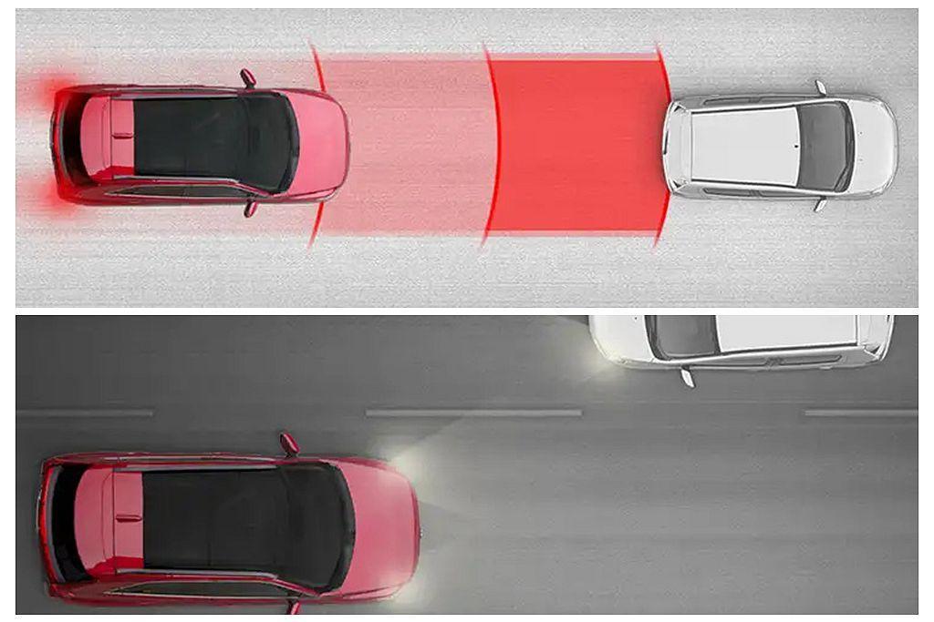 美規新年式三菱Eclipse Cross將原本需要選配的FCM主動式智慧剎車輔助...