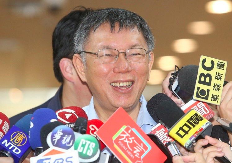 台北市長柯文哲。聯合報系資料照/記者余承翰攝影