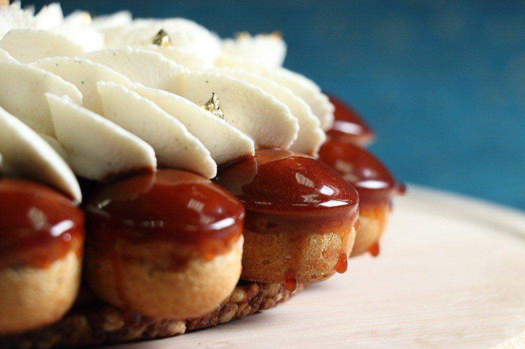 「新古典聖多諾黑泡芙塔」父親節蛋糕,8吋,7月31日前預購享早鳥優惠價1,290...