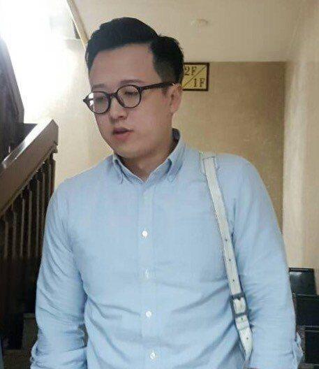 國民黨「草協聯盟」發起人李正皓。本報資料照片