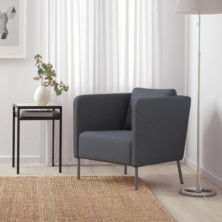 EKERÖ扶手椅(Idekulla深灰色),原價4,990元、特價2,990元。...