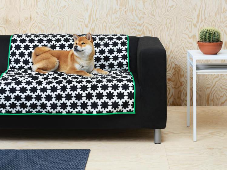 快趁IKEA「絕版品出清」為家中的毛小孩妝點小窩,圖為LURVIG寵物專用毯( ...
