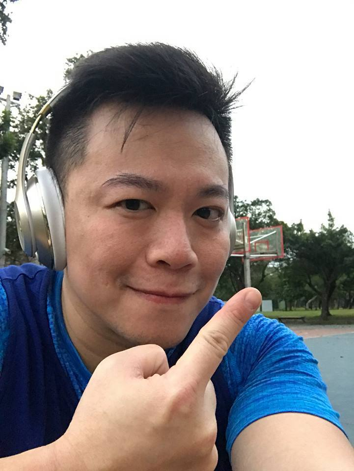 王世堅議會辦公室主任沈志霖。取自臉書