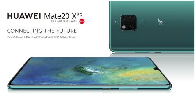 華為首款5G手機Mate 20X將於7月26日在深圳阪田基地發佈。(頭條資訊)