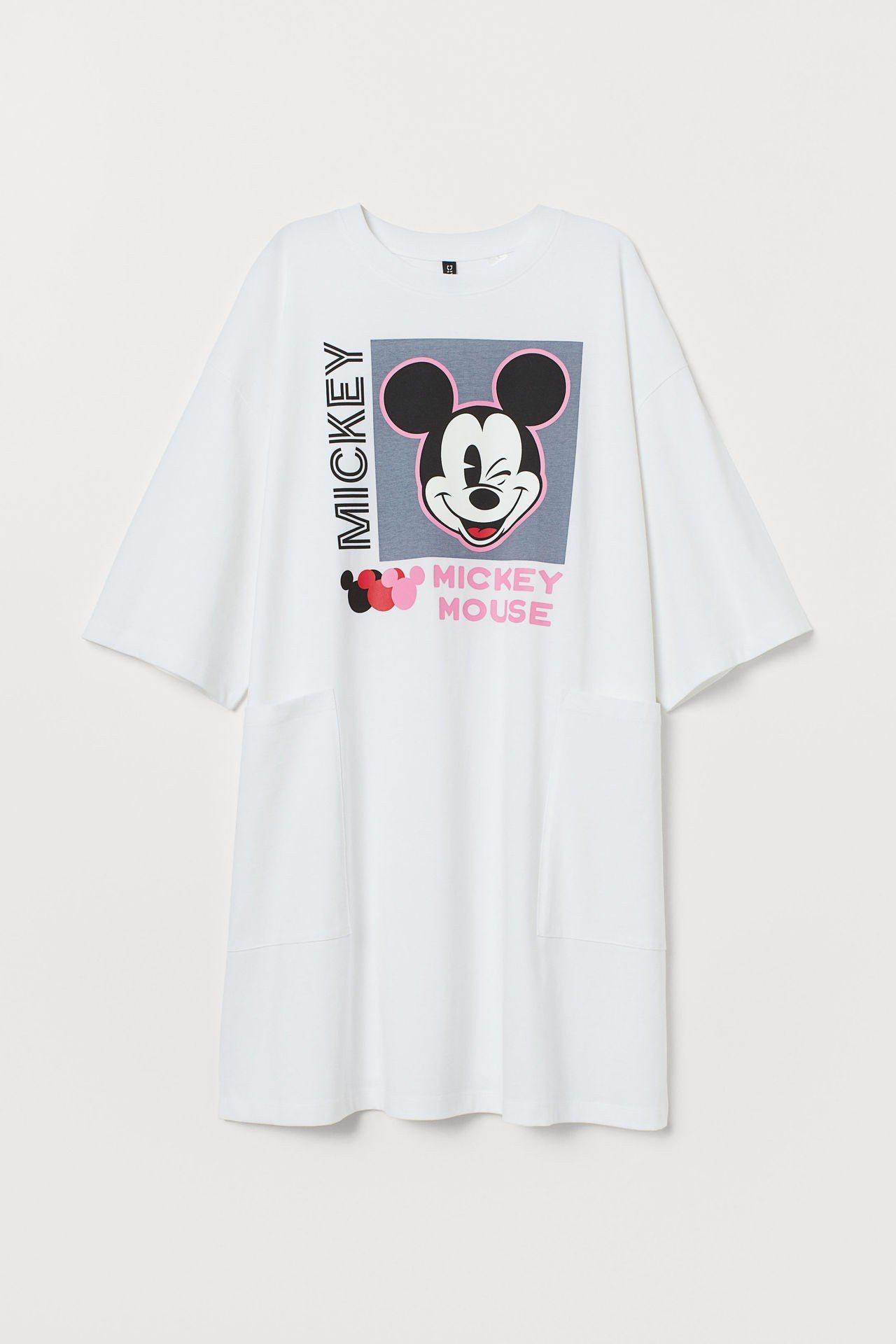 H&M亞洲時尚米奇合作系列單品,售價499元。圖/H&M提供