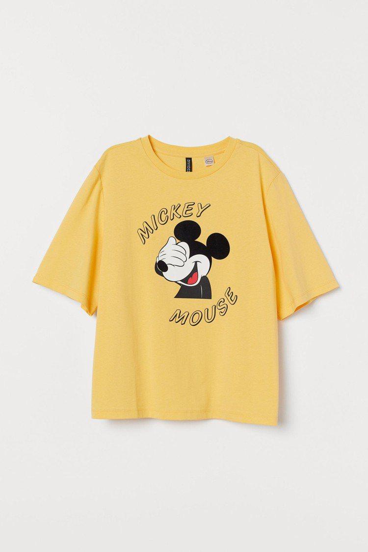 H&M亞洲時尚米奇合作系列單品,售價399元。圖/H&M提供