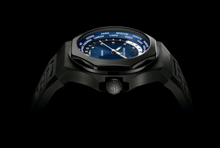 芝柏表Laureato Absolute系列世界時區腕表,39萬5,000元。圖...