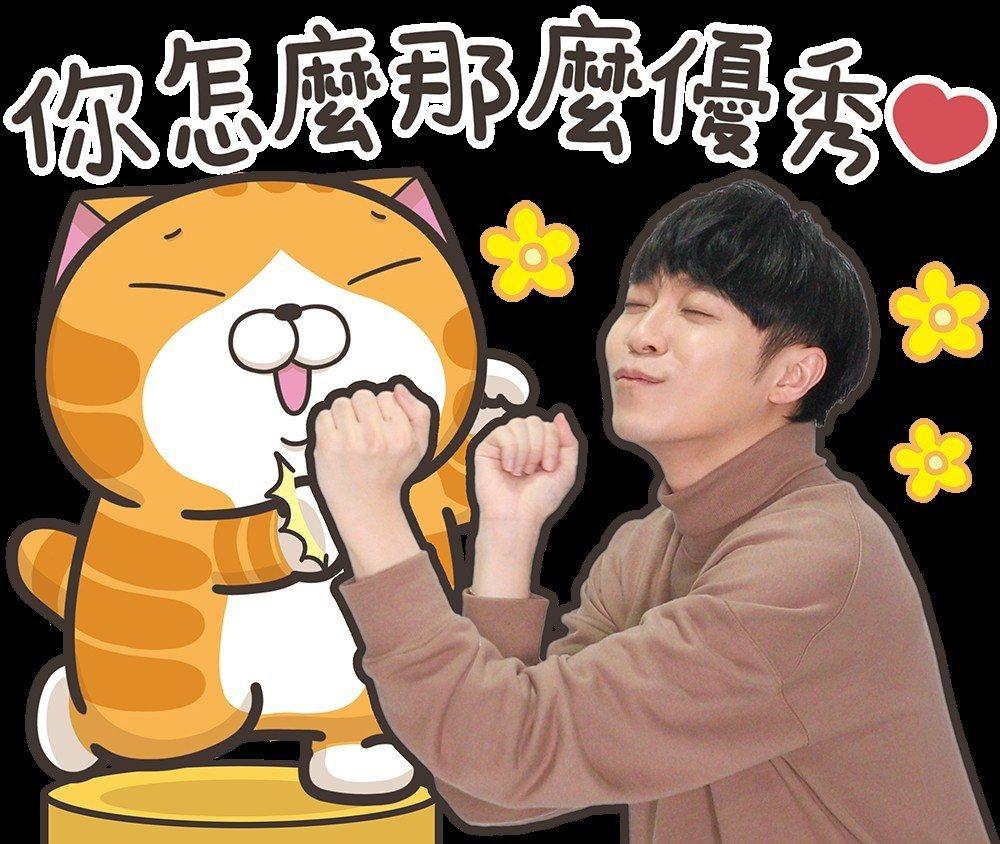 吳青峰自嘲與白爛貓的合作是「恥」度最大的一次。圖/環球提供