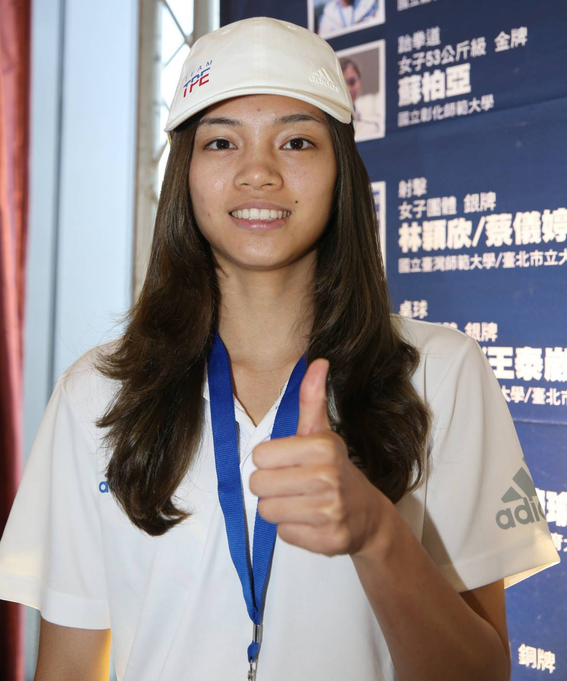蘇柏亞是今年拿坡里世大運唯一拿下2金的中華代表團選手。記者侯永全/攝影