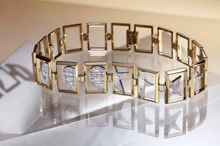 Tiffany Blue Book高級珠寶Icon系列項鍊,採用18K與鉑金鑲嵌...