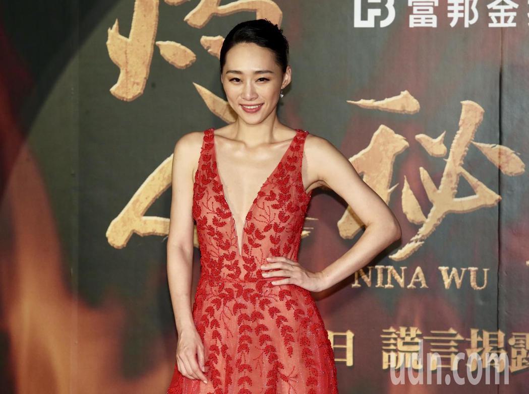新片《灼人秘密》今晚舉行首映記者會,吳可熙出席記者會。記者徐兆玄/攝影