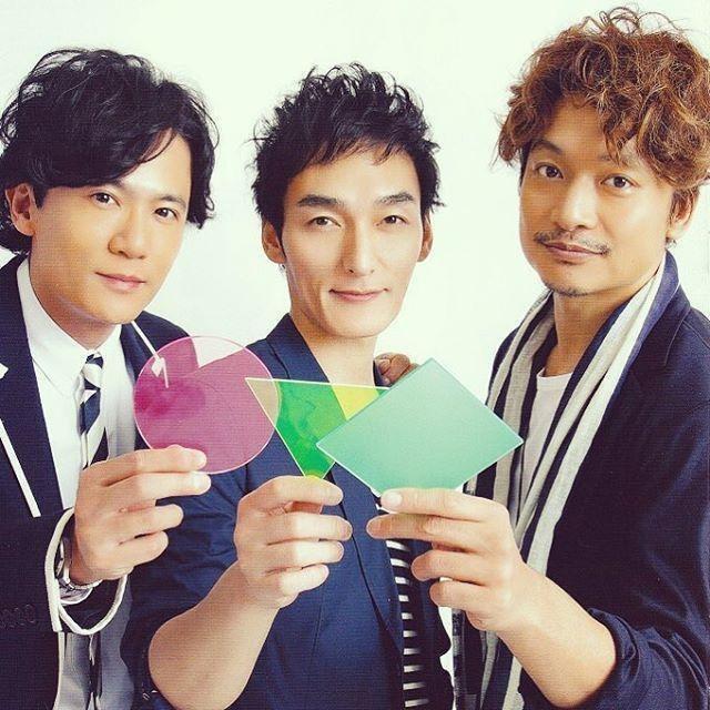 SMAP成員稻垣吾郎(左起)、草彅剛及香取慎吾,一起投奔新公司。取材自推特