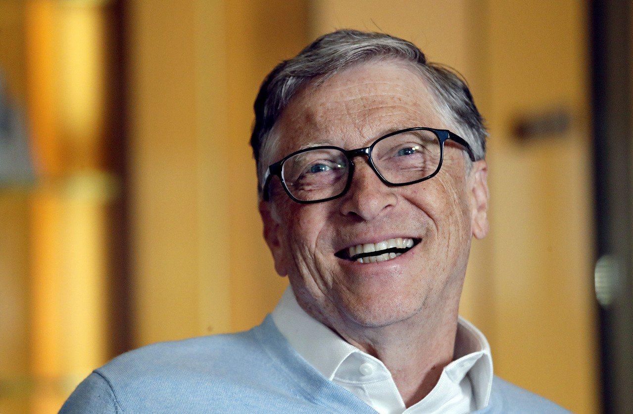 微軟創辦人蓋茲。美聯社