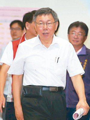 不滿蔡英文總統一句「常常聽不懂他(指柯文哲)在講什麼」,台北市長柯文哲昨天回酸:...