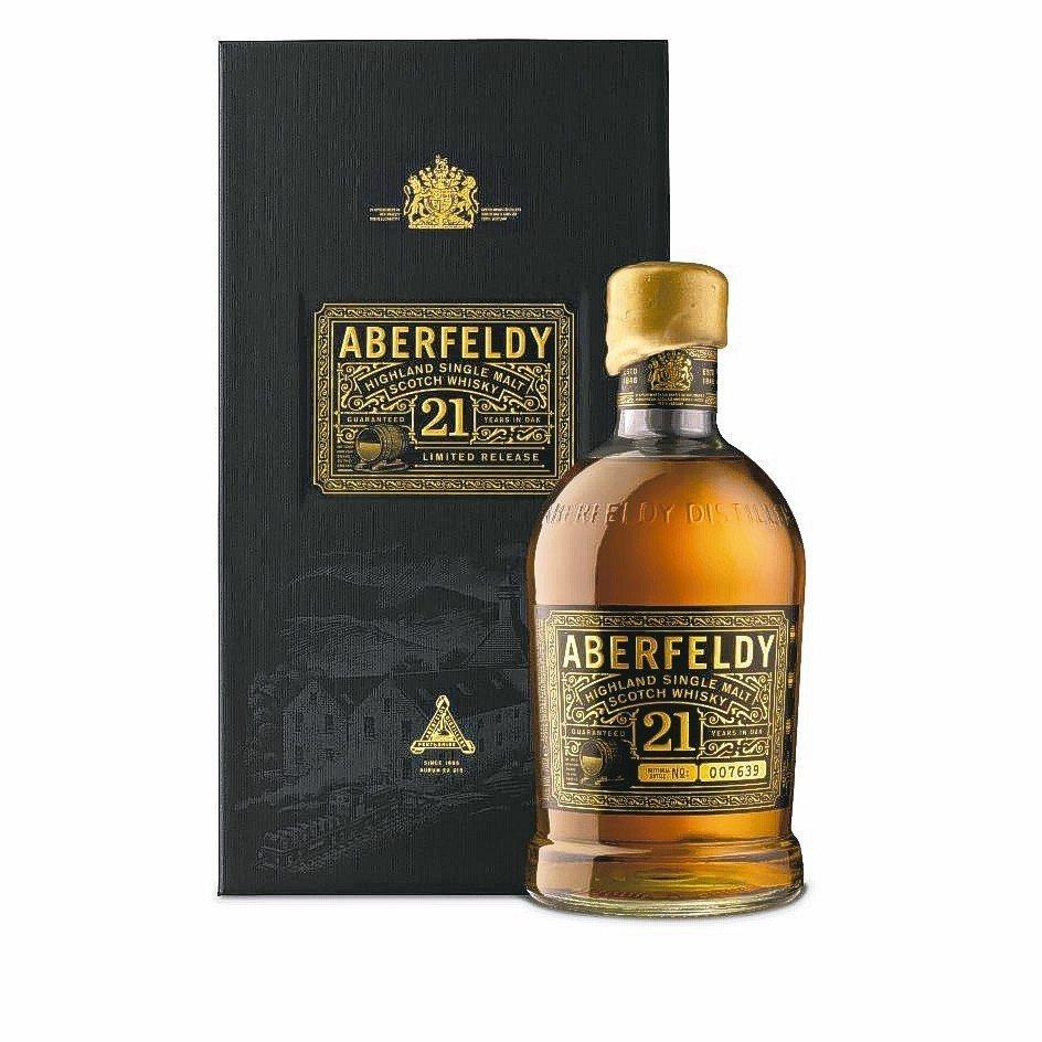 ABERFELDY艾柏迪21年單一麥芽蘇格蘭威士忌,酒精:40%。 大盛酒品/提...