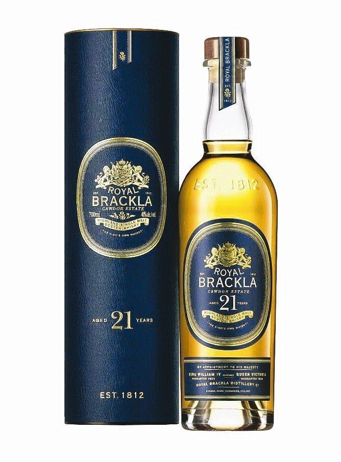 ROYAL BRACKLA皇家柏克萊21年單一麥芽蘇格蘭威士忌,酒精:40%。 ...