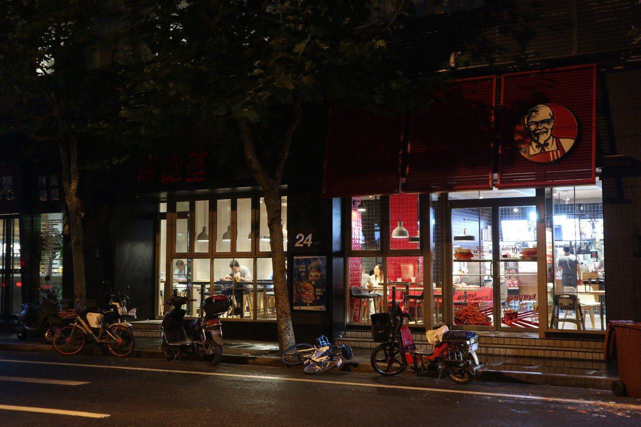 肯德基中國10城開賣麻辣燙滷雞心 中央社