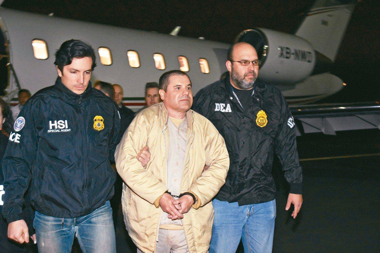 綽號「矮子」(El Chapo)的墨西哥毒梟古茲曼(Joaquín Guzmán...