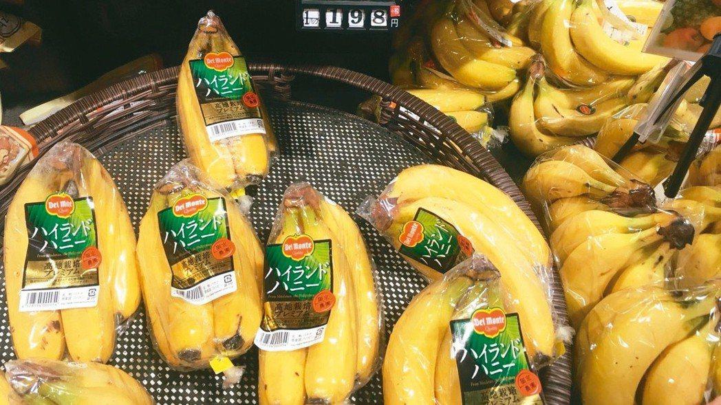 上半年農產品外銷量116萬公噸,總金額新台幣853億元,其中水果成長率高。 本報...