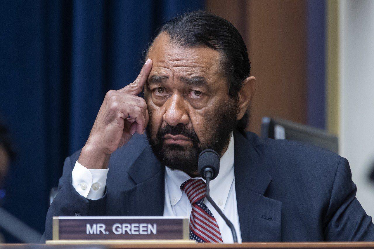 德州民主黨籍國會議員格林。 歐新社
