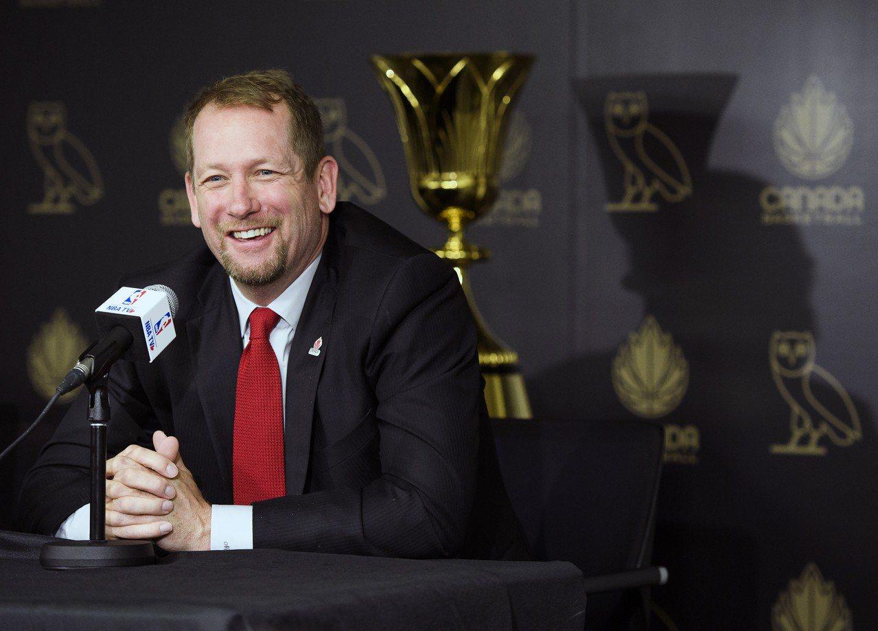諾斯出任加拿大國家隊教練。 美聯社