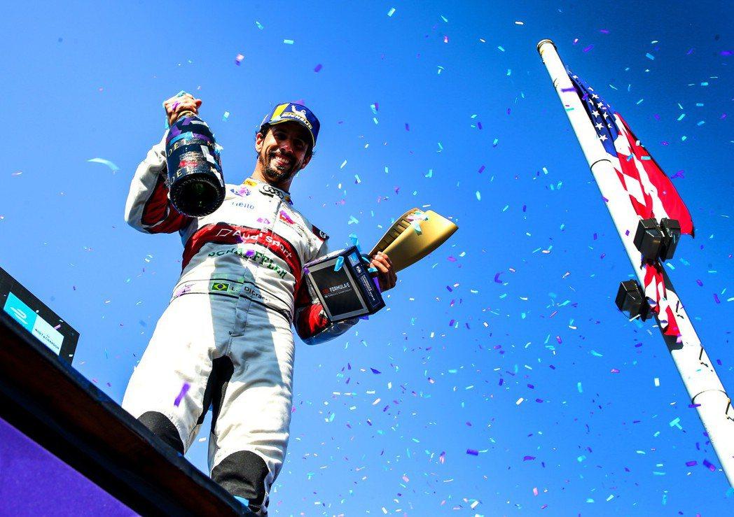 Audi Sport Formula E車手:Lucas di Grassi。 ...