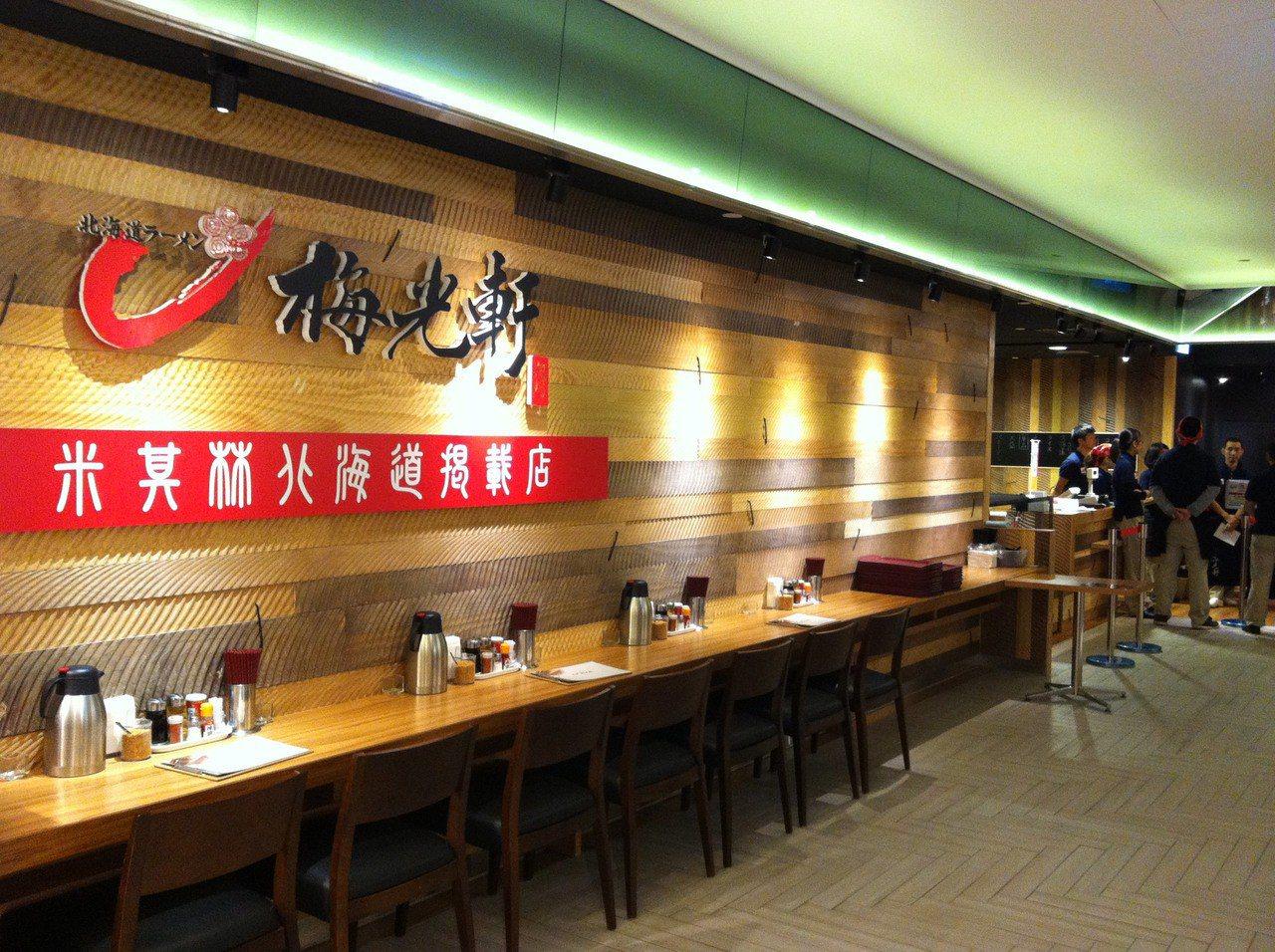 梅光軒曾在台北101展店。 資料照/台北101提供