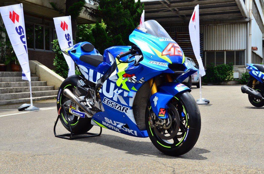 Suzuki MotoGP 賽車。 圖/台鈴SUZUKI提供