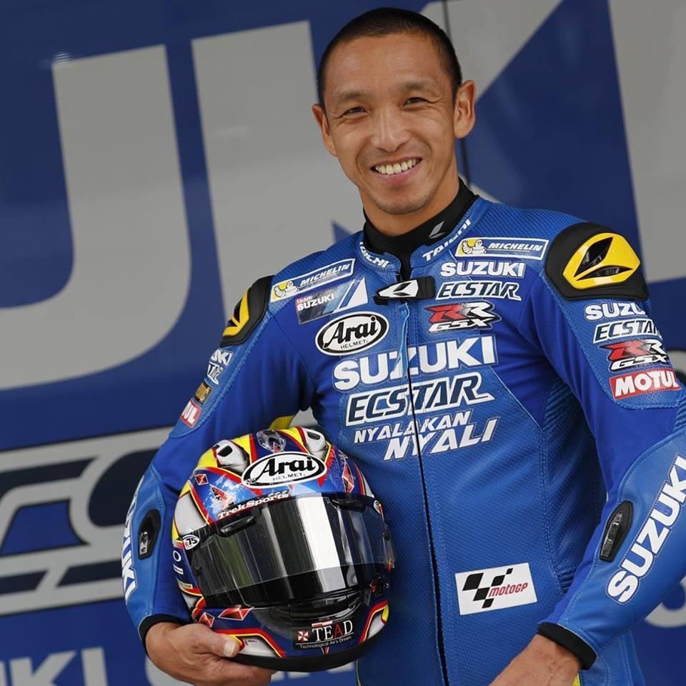 Suzuki MotoGP選手:青木宣篤先生。 圖/台鈴SUZUKI提供