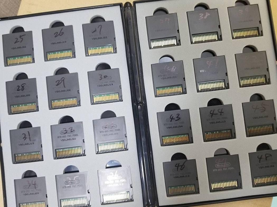 砂倉為每隻DQ9 寫上編號,記錄財寶地圖及種子資料(lagunas_brave@...