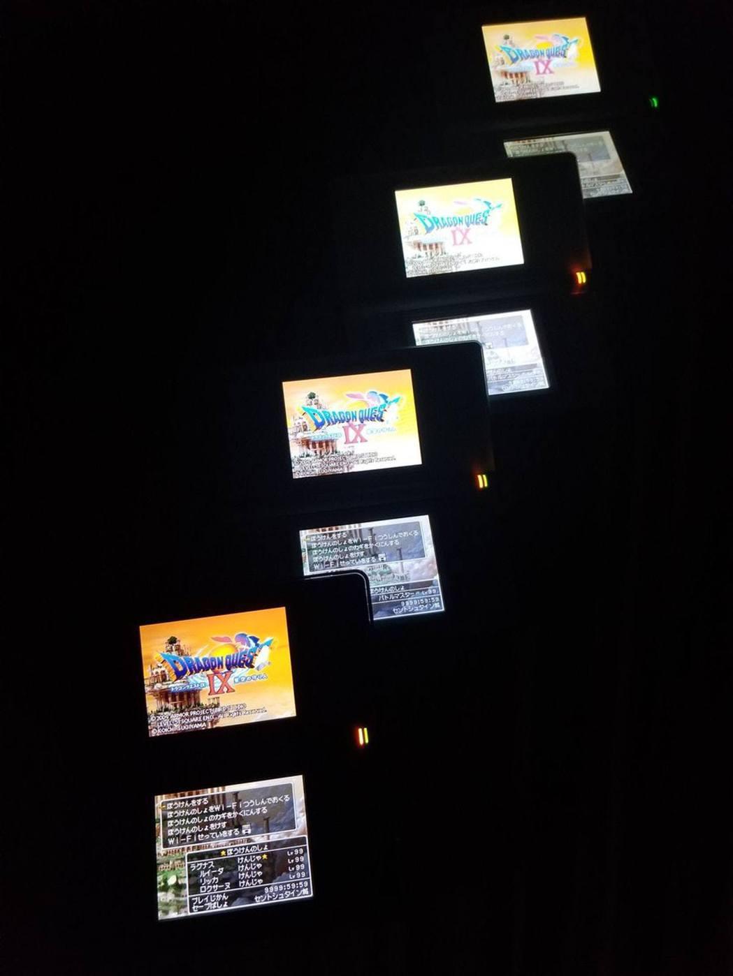 砂倉經常同一時間玩多台DQ9,試過最高紀錄同時玩20部主機(lagunas_br...