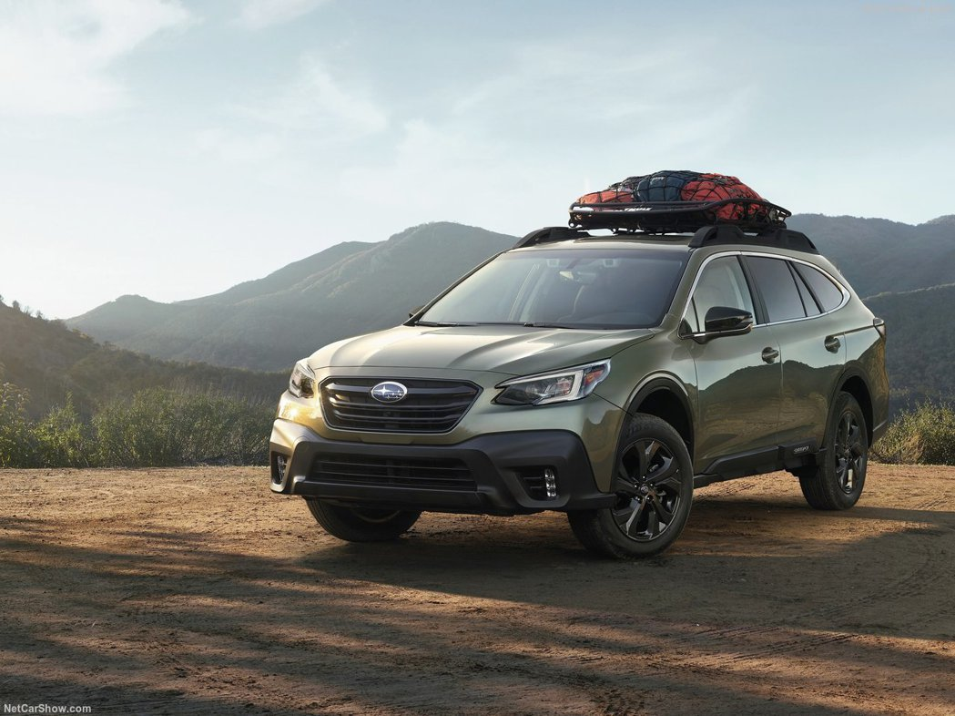 2019 Subaru Outback。 摘自Subaru
