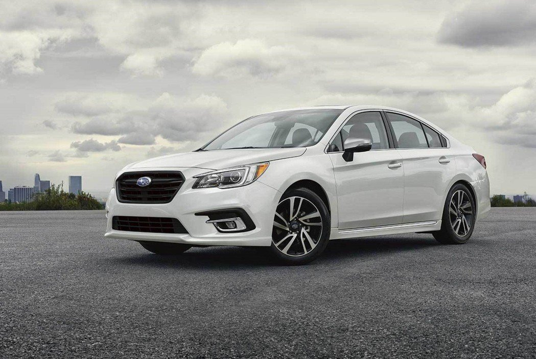 2019 Subaru Legacy。 摘自Subaru