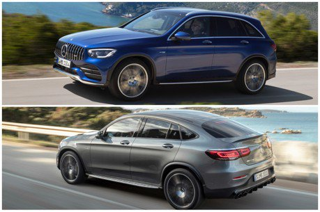 接近400匹馬力的水準! 小改款Mercedes-AMG GLC 43 / GLC 43 Coupe隆重登場!